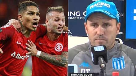 ¿Coudet será técnico de Paolo Guerrero? Esto dijo sobre el Inter de Porto Alegre
