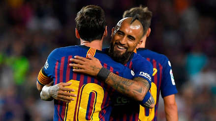 Arturo Vidal sobre Lionel Messi