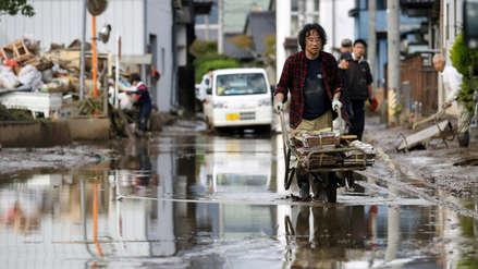 El tifón Hagibis arrastró varios sacos de residuos del accidente nuclear de Fukushima