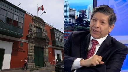 TC designa a Carlos Ramos Núñez como ponente para sustentar sobre la admisión de demanda competencial