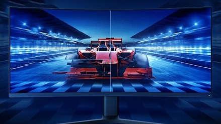 ¡Quiere romper el mercado! Xiaomi presentó sus primeros monitores gamers: uno es curvo y 4K