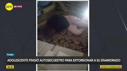 Adolescente fingió secuestro para extorsionar a su enamorado y obtener S/ 2000 [VIDEO]