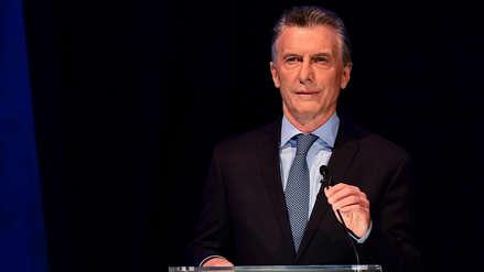 Mauricio Macri dice que Argentina ha sido