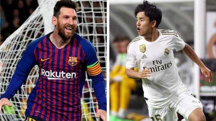 ¿Lo tomarán bien en Real Madrid? Takefusa Kubo reveló que Lionel Messi es su principal ídolo