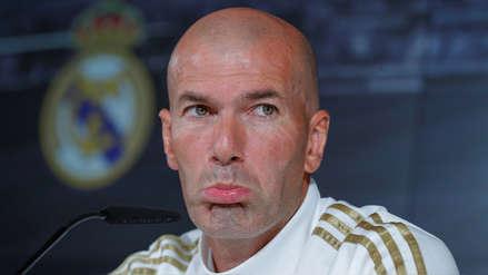 Zinedine Zidane sobre la postergación del Barcelona vs. Real Madrid: