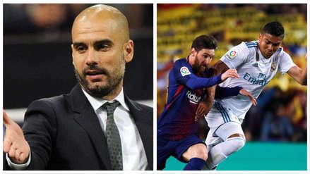 Pep Guardiola sobre aplazamiento del clásico español: