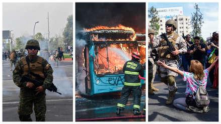 Nuevo brote de violencia en Chile: Carabineros y militares chocan con manifestantes