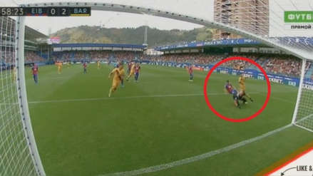 Lionel Messi anotó golazo ante Eibar tras gran conexión con Griezmann