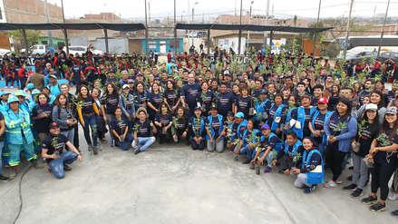 Voluntarios sembraron más de 5 mil árboles en 22 ciudades del Perú