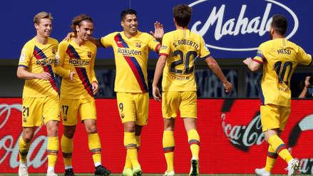Barcelona vs. Eibar: resultado, resumen y goles en partido de la Liga de España