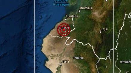 Tumbes   Un sismo de magnitud 4.0 sacudió esta tarde Zorritos