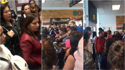 Cientos de pasajeros están varados en el Aeropuerto Jorge Chávez por crisis en Chile