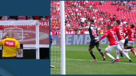 ¡Una eternidad! El golazo que le anuló el VAR a Inter de Porto Alegre tras 6 minutos de paralización
