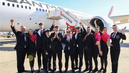 De Nueva York a Sídney: aterrizó con éxito el vuelo más largo y sin escalas de la historia
