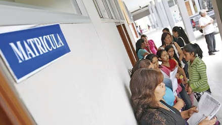 Ministerio de Educación inicia campaña para difundir proceso de matrícula escolar del 2020