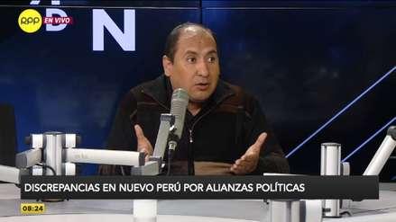 """Richard Arce sobre alianza con Cerrón: """"Ha primado el interés de algunos dirigentes de ser candidatos"""""""
