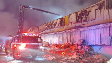 Un incendio en comercio de construcción eleva a 10 el número de fallecidos en Chile