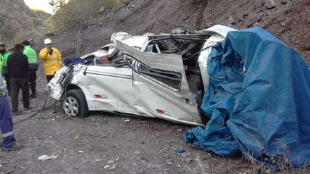 MTC y Sutran denuncian por homicidio a dueño de miniván que se despistó en Huarochirí