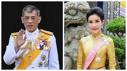 Rey de Tailandia despojó de sus títulos a su concubina por