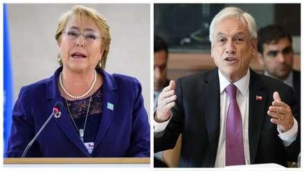 Michelle Bachelet pidió a Gobierno de Piñera dialogar con la sociedad civil para resolver crisis