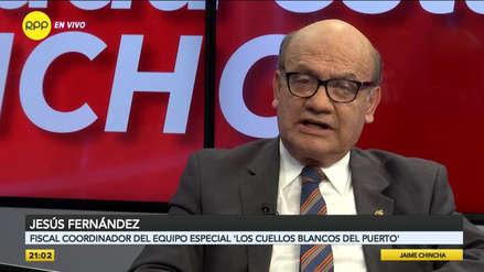 Fiscal Jesús Fernández: Ratificación a Pablo Sánchez en caso 'Cuellos blancos'