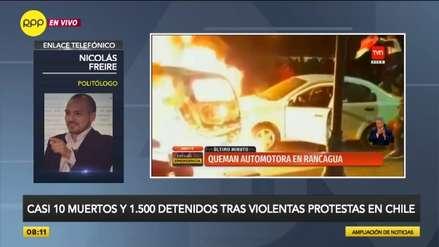 Politólogo sobre crisis en Chile: