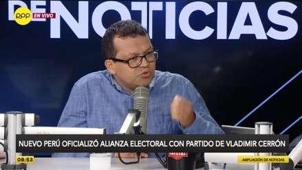 Nuevo Perú defendió alianza con partido de Cerrón y aseguró que fue democrática y