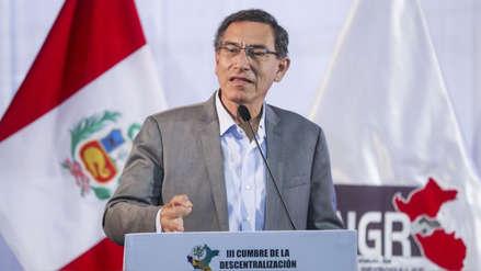 Vizcarra dice que Fuerza Popular valida la disolución del Congreso al participar en elecciones 2020