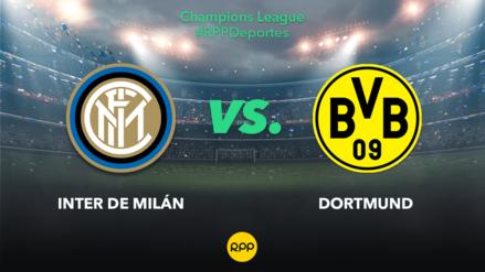 Inter de Milán vs. Borussia Dortmund EN VIVO: partido por la fecha 3 del Grupo F de Champions League