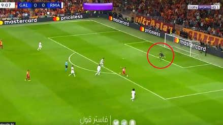 Thibaut Courtois salvó a Real Madrid ante Galatasaray tras una gran atajada