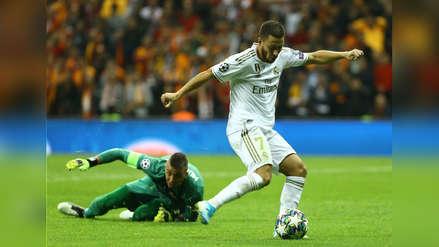 Hazard, era tu gol: estaba solo, se sacó al arquero, pero....