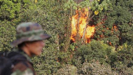 Ejército destruyó 40 laboratorios del narcotráfico en frontera con Colombia y detuvo a más de 50 personas