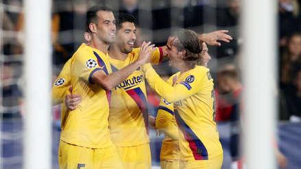 Barcelona 2-1 Slavia Praga: resultado, resumen y gol del partido por el grupo F de la Champions League