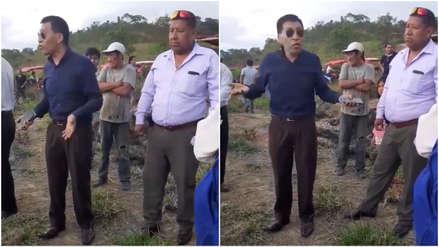 Mamani a invasores en Tarapoto: