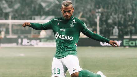 Malas noticias: Miguel Trauco no fue convocado para el partido de Saint Etienne ante Oleksandria