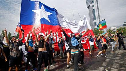 Epicentro de manifestaciones en Santiago amaneció sin custodia militar por primera vez en cinco días