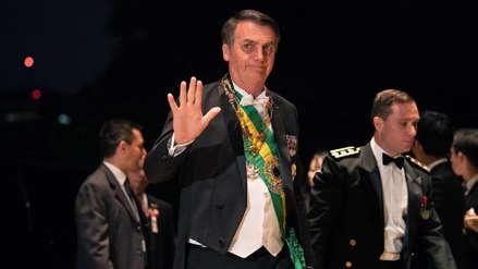 Jair Bolsonaro dice al llegar a China que se encuentra