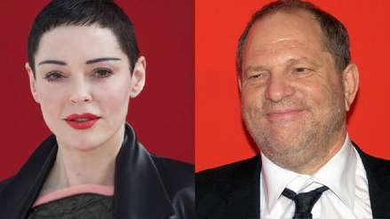 Rose McGowan presentó nueva denuncia contra Harvey Weinstein por intimidación
