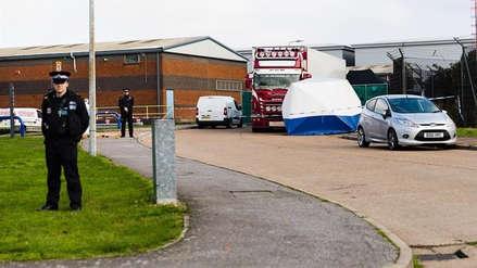Reino Unido: las 39 personas halladas muertas en un camión eran chinas