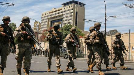 Congreso de Chile fue evacuado por nuevo choque entre militares y manifestantes
