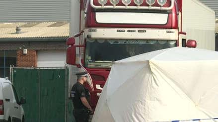 Policía británica investiga una posible mafia detrás de la muerte de 39 inmigrantes chinos