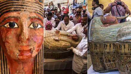 35 impresionantes fotos de los sarcófagos de hace 3 mil años recientemente descubiertos en Egipto