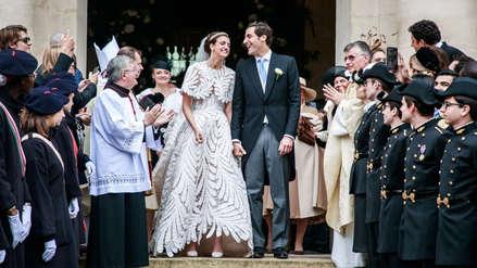Heredero de Napoleón Bonaparte y heredera del emperador de Austria se casaron: 20 fotos de la boda