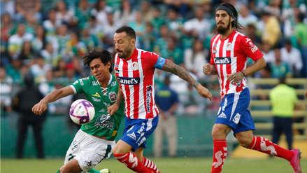 Sin Pedro Aquino, León venció 3-2 al Atlético San Luis por la fecha 15 del Torneo Apertura de la Liga MX