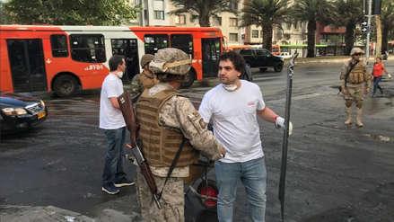 El Ejército de Chile levantó toque de queda después de una semana de protestas