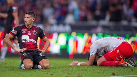 Sin Anderson Santamaría, Atlas cayó 2-0 ante Necaxa por la fecha 15 del Torneo Apertura de la Liga MX