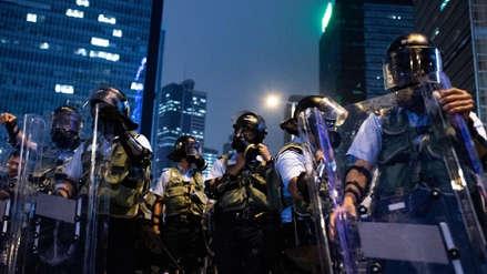 Hong Kong contratará a 1,000 policías retirados como refuerzos ante protestas