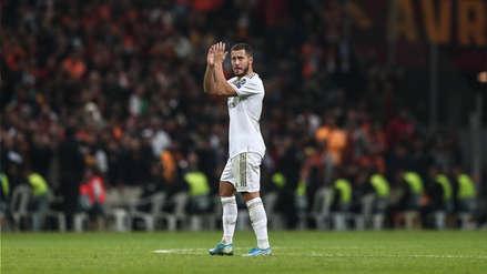 Eden Hazard sobre llevar la 7 en el Real Madrid: