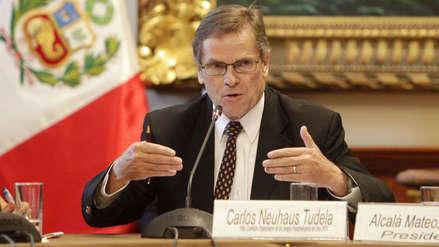 Fiscalía investiga a Carlos Neuhaus por presuntos aportes de Odebrecht a campaña de Lourdes Flores