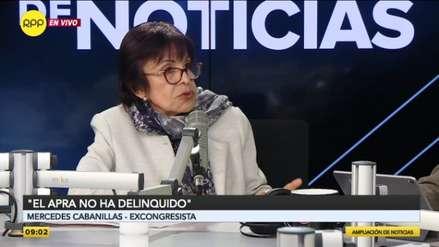 Exministra Mercedes Cabanillas: